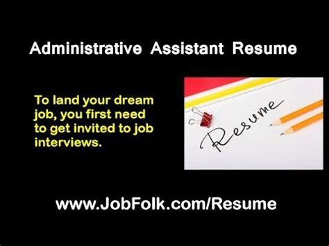 Best sample resume admin assistant